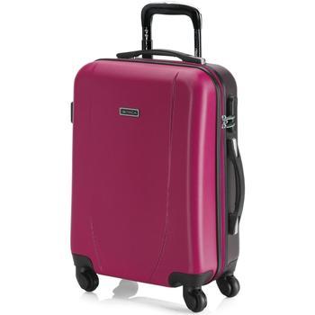 Táskák Keményfedeles bőröndök Itaca Tiberis Fukszia-antracit