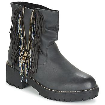 Cipők Női Csizmák Coolway BARINA Fekete
