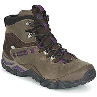 Shoes Női Túracipők Merrell CHAM SHIFT TRAVELER MID WTPF Oliva
