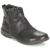 Cipők Női Csizmák Art BERGEN Fekete
