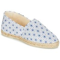 Cipők Női Gyékény talpú cipők Maiett ASANOHA Kék / Fehér