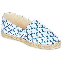 Cipők Női Gyékény talpú cipők Maiett KIMONO Fehér / Kék