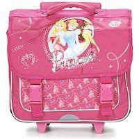 Táskák Lány Táskák / Gurulós táskák Disney PRINCESSES CARTABLE TROLLEY 38CM Rózsaszín