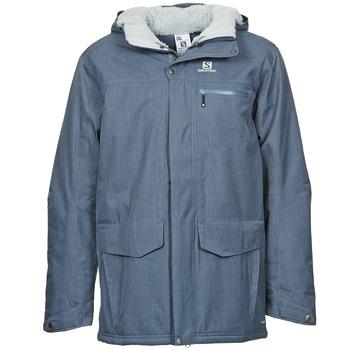 Ruhák Férfi Parka kabátok Salomon SKYLINE Kék