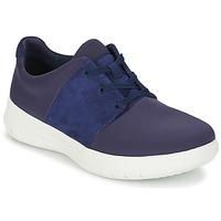 Cipők Női Rövid szárú edzőcipők FitFlop SPORTYPOP X SNEAKER Tengerész