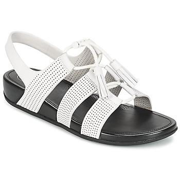 Cipők Női Szandálok / Saruk FitFlop GLADDIE LACEUP SANDAL Fehér