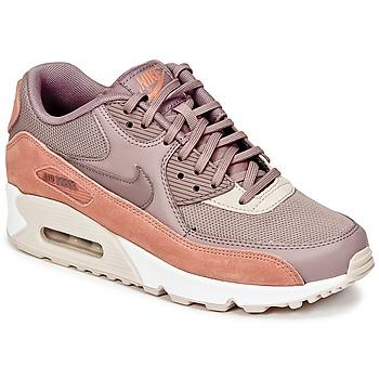 Cipők Női Rövid szárú edzőcipők Nike AIR MAX 90 W Tópszínű / Rózsaszín