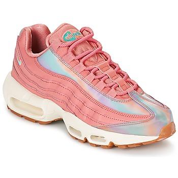Cipők Női Rövid szárú edzőcipők Nike AIR MAX 95 SE W Rózsaszín