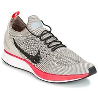 Cipők Női Rövid szárú edzőcipők Nike AIR ZOOM MARIAH FLYKNIT RACER PREMIUM W Szürke / Rózsaszín