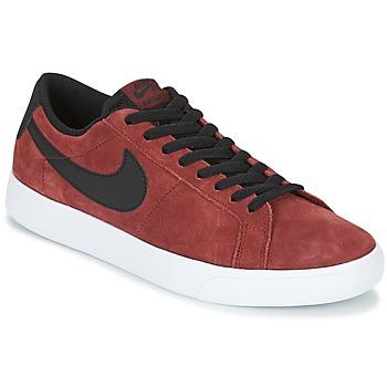 Cipők Férfi Rövid szárú edzőcipők Nike BLAZER VAPOR LOW SB Bordó / Fehér