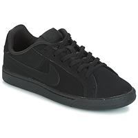 Cipők Gyerek Rövid szárú edzőcipők Nike COURT ROYALE GRADE SCHOOL Fekete
