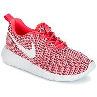 Cipők Lány Rövid szárú edzőcipők Nike ROSHE ONE GRADE SCHOOL Rózsaszín / Fehér