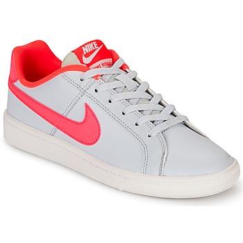 Cipők Lány Rövid szárú edzőcipők Nike COURT ROYALE GRADE SCHOOL Szürke / Rózsaszín