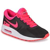Cipők Lány Rövid szárú edzőcipők Nike AIR MAX ZERO ESSENTIAL GRADE SCHOOL Fekete  / Rózsaszín