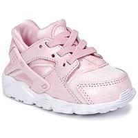 Cipők Lány Rövid szárú edzőcipők Nike HUARACHE RUN SE TODDLER Rózsaszín