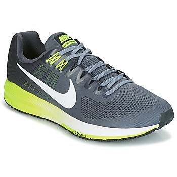 Cipők Férfi Futócipők Nike AIR ZOOM STRUCTURE 21 Szürke