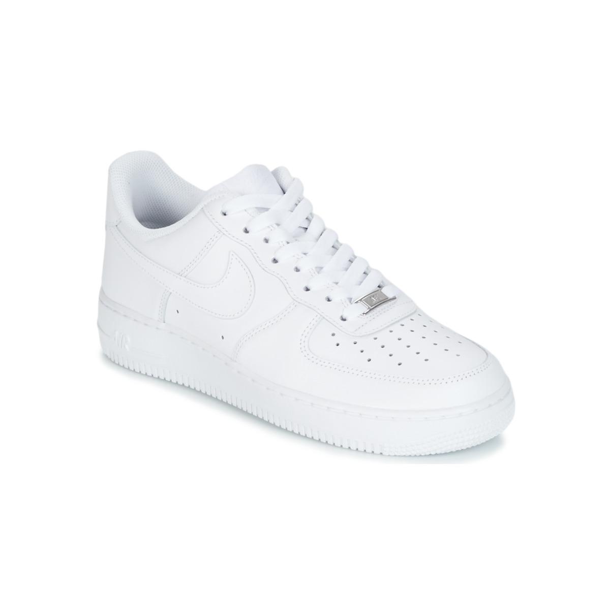 Cipok Rövid szárú edzőcipők Nike air force - Ingyenes Kiszállítás a ... 66927a11cc