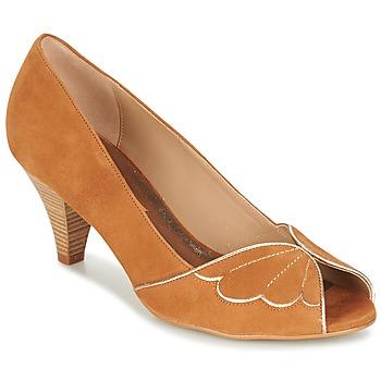 Shoes Női Félcipők Bocage DAPHNE Konyak
