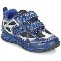 Shoes Fiú Rövid szárú edzőcipők Geox J SHUTTLE B. A Tengerész / Kék