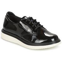 Cipők Lány Oxford cipők Geox J THYMAR G. B Fekete