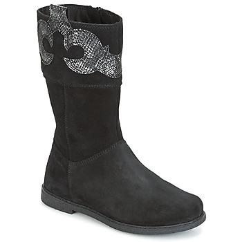 Cipők Lány Városi csizmák Geox J SHAWNTEL G. C Fekete