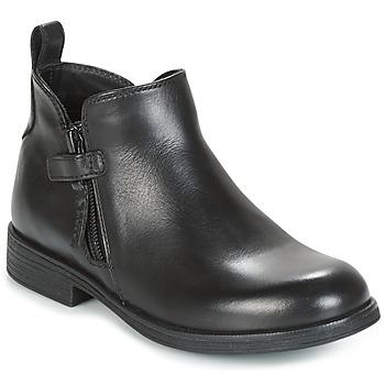 Cipők Lány Csizmák Geox J AGATA C Fekete