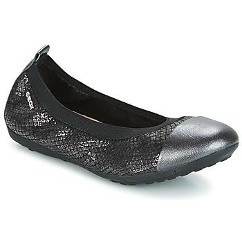Cipők Lány Balerina cipők  Geox J PIUMA BAL B Fekete