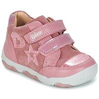 Cipők Lány Rövid szárú edzőcipők Geox B N.BALU' G. C Rózsaszín