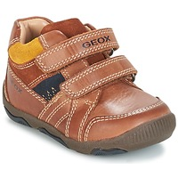 Cipők Fiú Rövid szárú edzőcipők Geox B N.BALU' B. B Barna