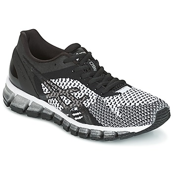 Cipők Női Futócipők Asics GEL-QUANTUM 360 KNIT Fekete  / Fehér