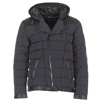 Ruhák Férfi Steppelt kabátok Le Temps des Cerises BEND Fekete