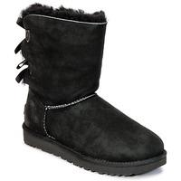 Cipők Női Csizmák UGG BAILEY BOW II Fekete