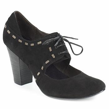 Cipők Női Félcipők Sans Interdit ELINE Fekete