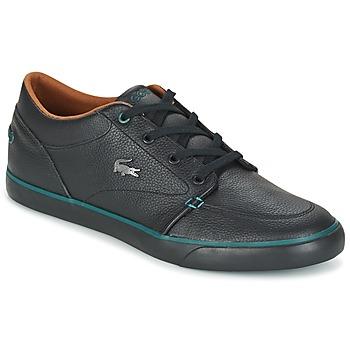 Cipők Férfi Rövid szárú edzőcipők Lacoste BAYLISS 1 Fekete