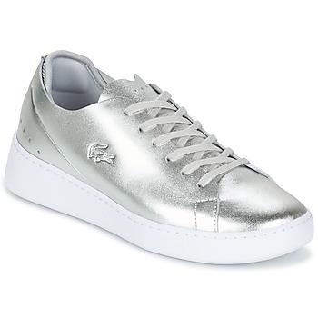 Cipők Női Rövid szárú edzőcipők Lacoste EYYLA Ezüst