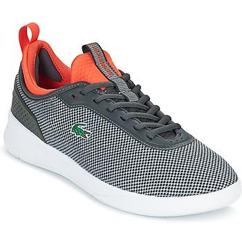Cipők Férfi Rövid szárú edzőcipők Lacoste LT SPIRIT 2.0 Szürke / Piros
