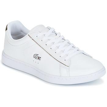 Cipők Női Rövid szárú edzőcipők Lacoste CARNABY EVO Fehér