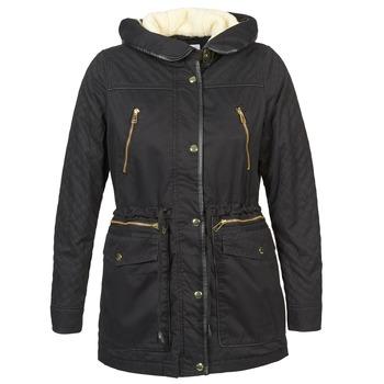 Ruhák Női Parka kabátok Vero Moda GRADING PARKA Fekete