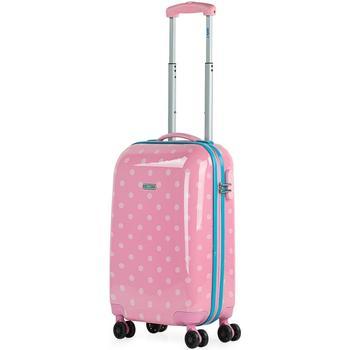 Táskák Keményfedeles bőröndök Skpat Topos között Rózsaszín