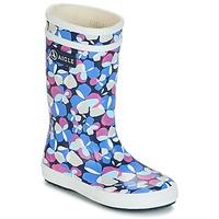 Cipők Lány Gumicsizmák Aigle LOLLY POP GLITTERY Kék