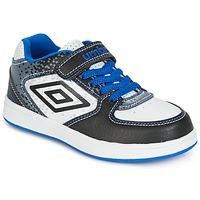 Cipők Fiú Rövid szárú edzőcipők Umbro DOGAN VLC Fehér / Kék