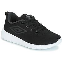 Cipők Fiú Rövid szárú edzőcipők Umbro DENFORD Fekete
