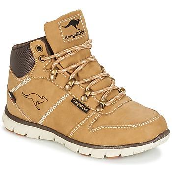 Cipők Fiú Csizmák Kangaroos BLUERUN 2098 Méz