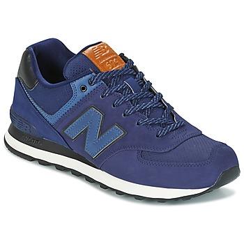 Cipők Rövid szárú edzőcipők New Balance ML574 Tengerész