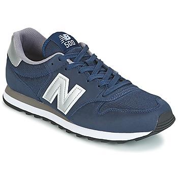 Cipők Férfi Rövid szárú edzőcipők New Balance GM500 Tengerész