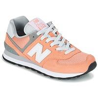 Cipők Női Rövid szárú edzőcipők New Balance WL574 Barack