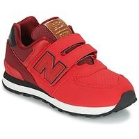 Cipők Gyerek Rövid szárú edzőcipők New Balance KV575 Piros / Fekete