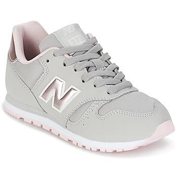 Cipők Lány Rövid szárú edzőcipők New Balance KJ374 Szürke / Rózsaszín