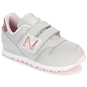 Cipők Lány Rövid szárú edzőcipők New Balance KV373 Szürke / Rózsaszín