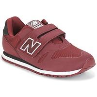 Cipők Gyerek Rövid szárú edzőcipők New Balance KA374 Bordó